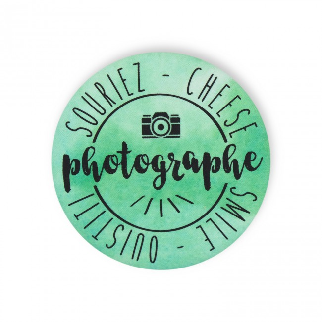 Badge PHOTOGRAPHE