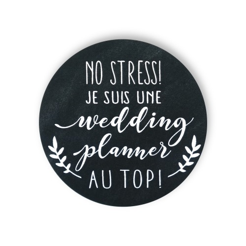 Badge WEDDING PLANNER