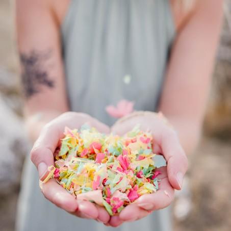Confettis, il y en a pour tous les goûts !